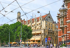 Das szenische Gebäude Lizenzfreies Stockbild