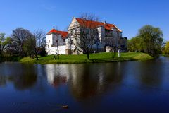 Das Szydlowiec Schloss Stockbild