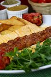 Das Türkische Adana - Urfa-Kebab Stockbild
