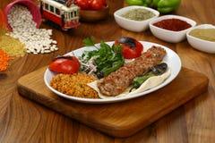 Das Türkische Adana - Urfa-Kebab Stockbilder