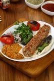Das Türkische Adana - Urfa-Kebab Lizenzfreie Stockbilder
