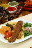 Das Türkische Adana - Urfa-Kebab Lizenzfreie Stockfotografie