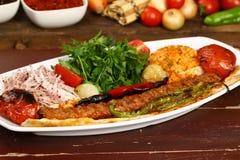 Das Türkische Adana - Urfa-Kebab Lizenzfreie Stockfotos