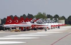 Das Türkische-Sterne Stockbild