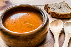 Das Türkische Tarhana oder Ezogelin-Suppe lizenzfreies stockfoto