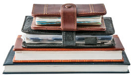 Das Tagebuch Lizenzfreies Stockfoto