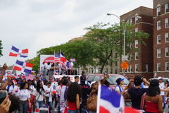 Das Tagesparade-Teil 2015 Bronx dominikanische 2 48 stockbild