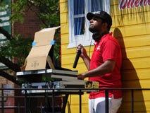 Das Tagesparade-Teil 2016 Bronx dominikanische 2 4 stockbilder