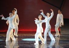 Das Tai Chi Group-The-Tanzdrama die Legende der Kondor-Helden Stockfoto