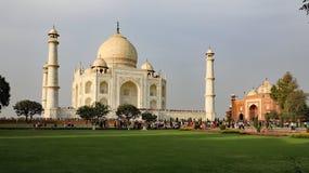 Das Taj Mahal Stockfotografie