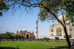 Das Taj Mahal Lizenzfreies Stockfoto
