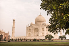 Das Taj Mahal in Agra, Indien stockbilder