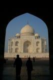 Das Taj Mahal, Indien Stockfotografie