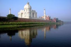 Das Tajmahal von Indien. Stockbild