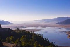 Das Tal des Flusses Lizenzfreie Stockbilder