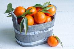 Das tangerinas do alimento vida abstrata ainda Imagens de Stock Royalty Free