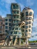 Das Tanzen-Haus, Prag Stockfotos