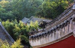 Das Tanzhe Temple Stockfotografie
