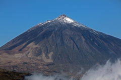 Das Teide ist ein Vulkan Stockbilder