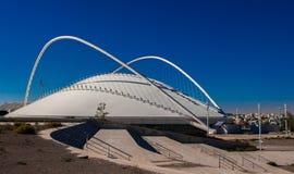 Das Teil der olympischen athletischen Mitte von Athen Spiros Louis, Griechenland Lizenzfreies Stockfoto