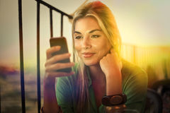 Das Telefon Lizenzfreies Stockbild