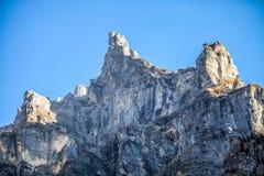 Das Tenneverge Gipfel, Frankreich Stockbild