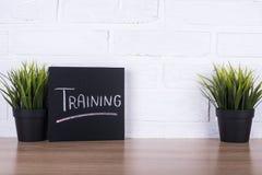 Das Text ` Training ` auf einer Tafel Lizenzfreie Stockbilder