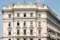 Das Theater sterben Neue-Tribüne in Wien Stockbild