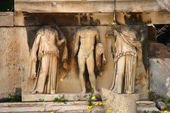 Das Theater von Dionysus Stockfotografie