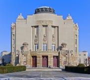 Das Theatergebäude stockfoto