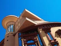 Das Theatergebäude in Moskau Lizenzfreie Stockfotos
