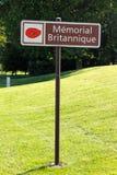 Das Thiepval-Denkmal zu den Vermissten des Sommes Stockfotos