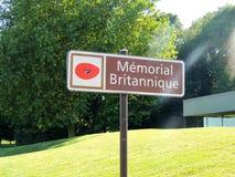 Das Thiepval-Denkmal zu den Vermissten des Sommes Stockfoto