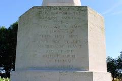 Das Thiepval-Denkmal zu den Vermissten des Sommes Lizenzfreies Stockbild