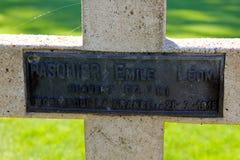 Das Thiepval-Denkmal zu den Vermissten des Sommes Lizenzfreie Stockbilder