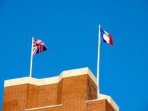 Das Thiepval-Denkmal zu den Vermissten des Sommes Lizenzfreies Stockfoto