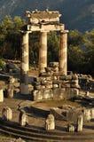 Das Tholos am Schongebiet von Athene Pronaia Lizenzfreies Stockfoto