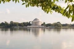 Das Thomas- Jeffersondenkmal Stockbilder