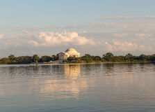 Das Thomas- Jeffersondenkmal Stockfotos