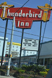 Das Thunderbird-Gasthaus, Savannah Georgia Stockbild