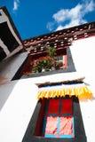 Das tibetanische Fensterbrett Lizenzfreies Stockfoto