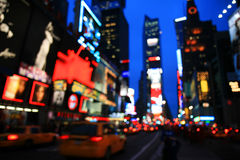 Das Times Square - Spezialeffekt Stockbild
