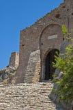 Das Tor der alten Festung Lizenzfreie Stockfotos