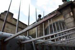 Das Tor der Festung Königstein Stockbild