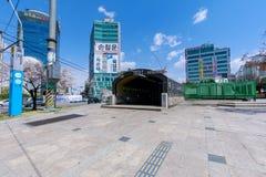 Das Tor des Bupyeong-Stations-Untertageeinkaufszentrums Lizenzfreies Stockbild