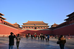 Das Tor des Kaiserpalastes Lizenzfreie Stockfotografie