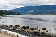 Das Tor Vancouver des Löwes Stockbilder