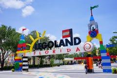 Das Tor von lego Land Florida Stockbild
