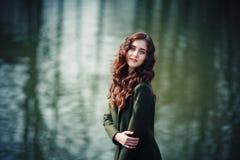 Das träumerische Mädchen Stockfoto