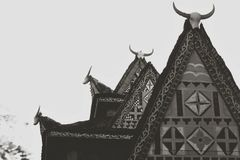 Das traditionelle Haus Stockfotos